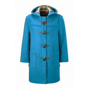 Men's Custom Made to Order 100% Boiled Wool Duffle Coat - Choice of Styles, Colours