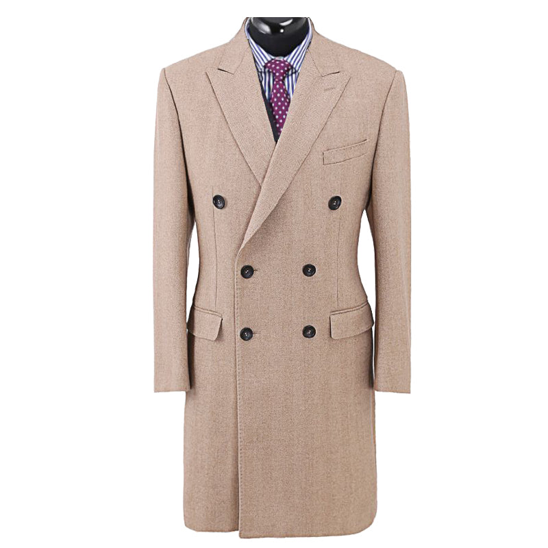 Men's Custom Made to Order 70%+ Wool Overcoat - Choice of Styles, Colours