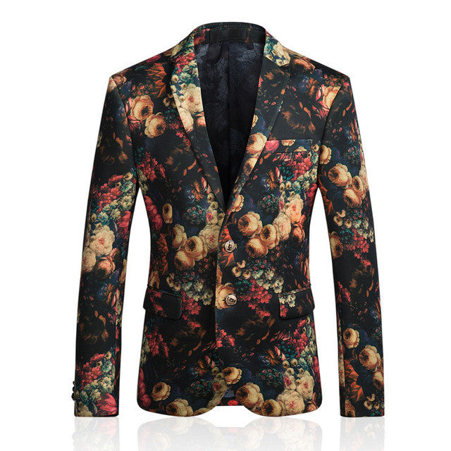 Mens Obnoxious Printed Image Jacket - I'm Big with Bees-Obnoxious Blazers-Definitely-M-Dappergeddon menswear dandy