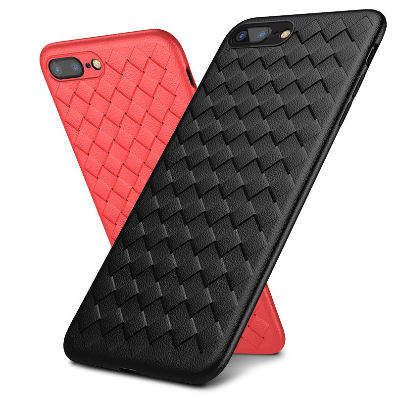 Breath! Woven pattern soft TPU slim iPhone 6+ Plus Case 5.5 inch