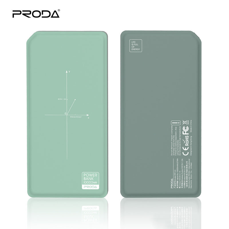 iicase-australia_PRODA® 10,000mAh Wireless Quick Charger Portable Power Bank