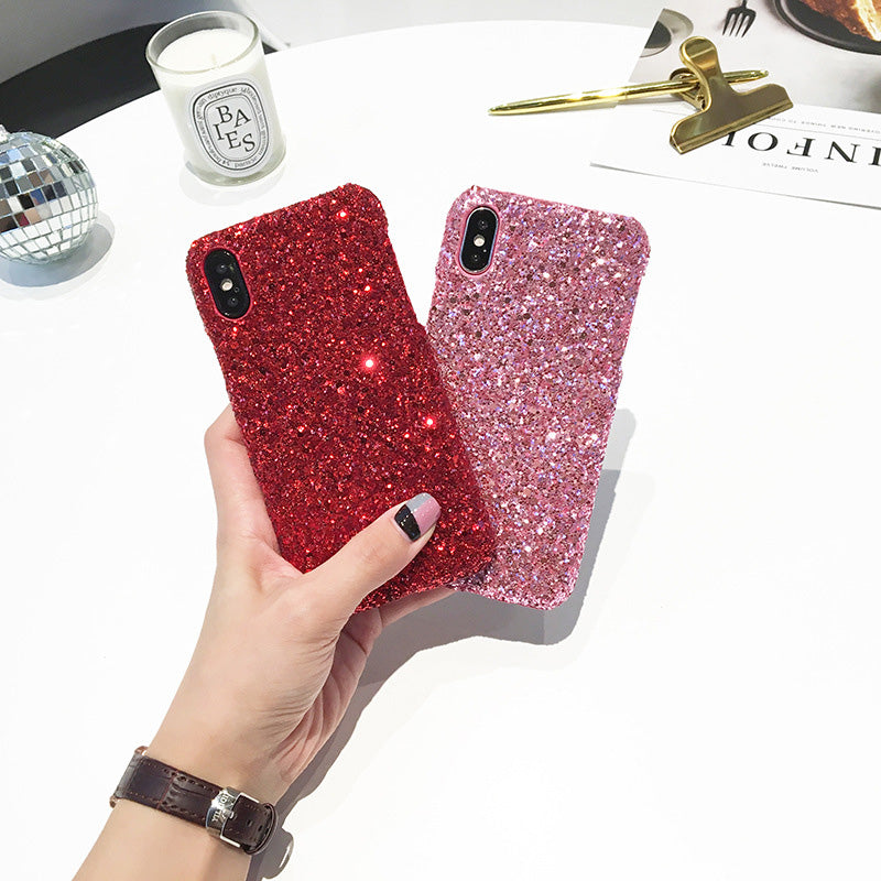 Sparkling Sequins Bling Glitter Fashion iPhone 8 Case 4.7 inch