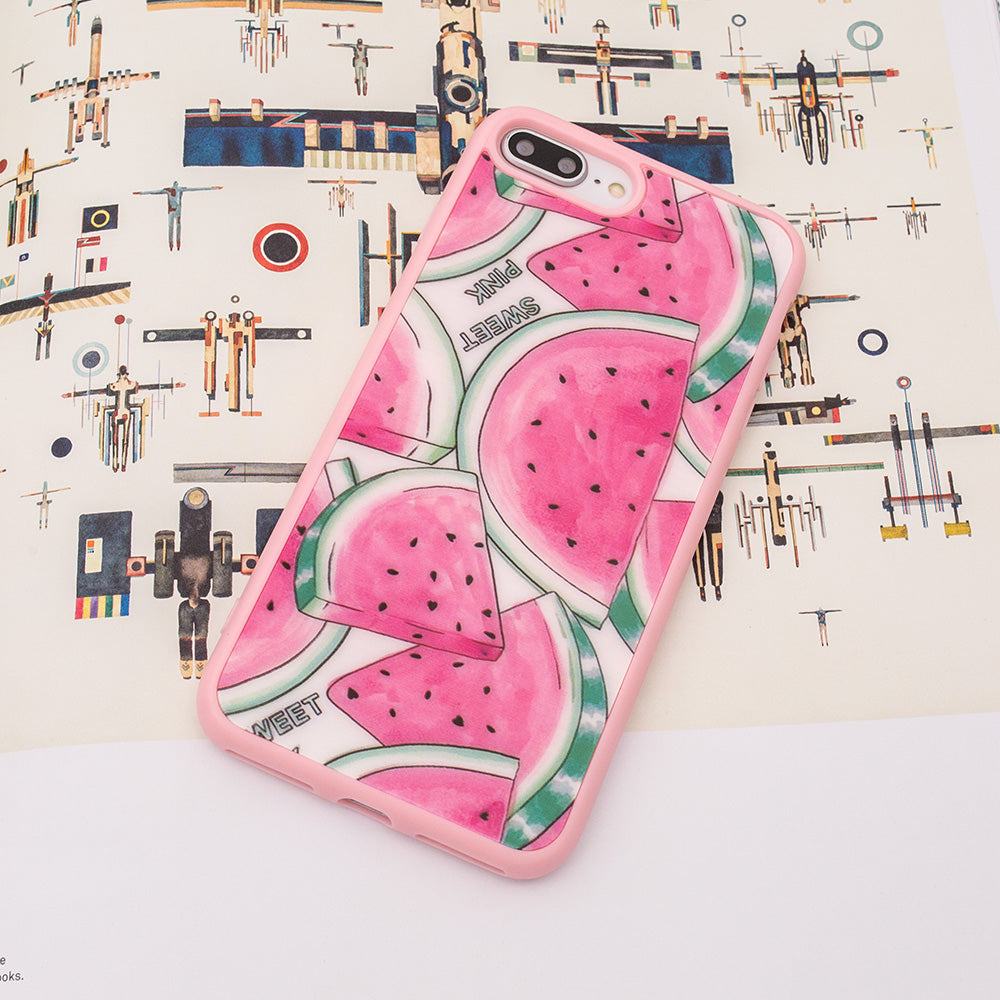 Cute pink watermelon pattern protection iPhone SE/5 Case