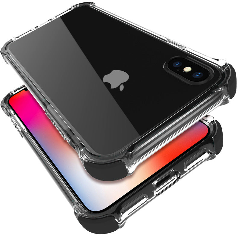 Military Grade Protection Colourful bumper transparent iPhone 8 Case