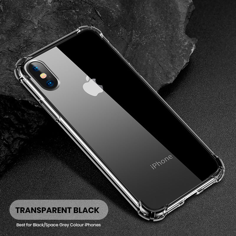 buy popular 4d5f8 8ca80 Military grade super clear transparent iPhone Case Cover