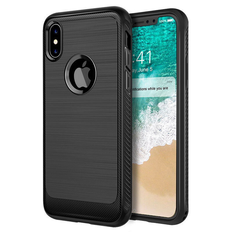 iicase-australia_Heavy duty carbon design soft TPU fashion protection case for iPhone Case