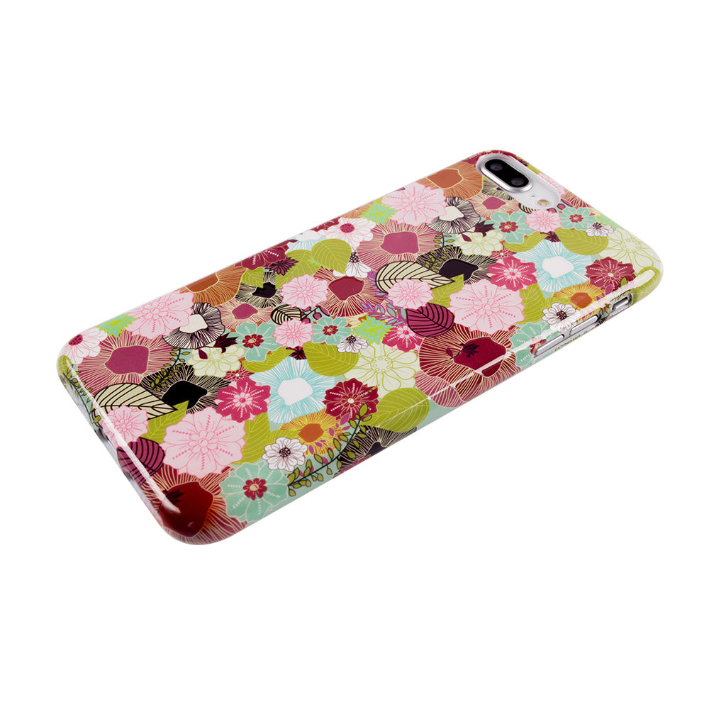 Leaf and flower pattern soft TPU silicon iPhone 6/6s Case 4.7 inch
