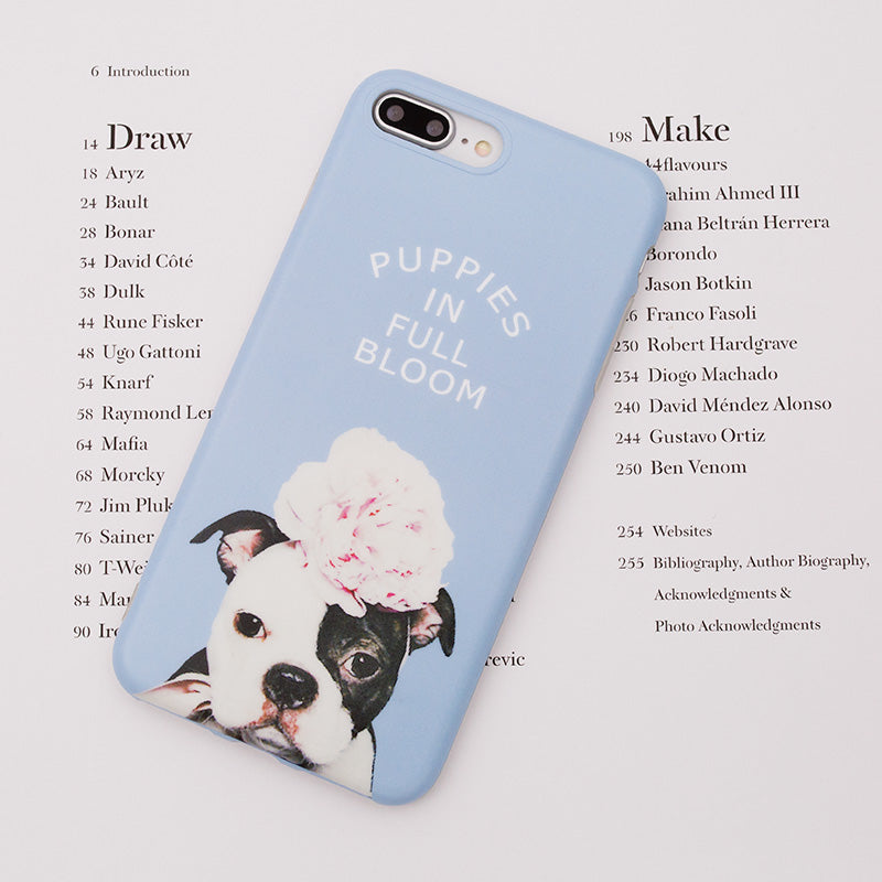 iicase-australia_Puppies in Full Bloom soft iPhone 7 Case 4.7 inch