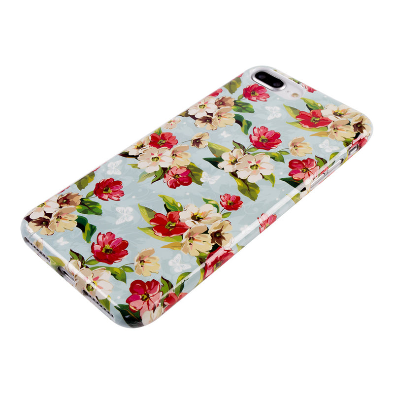iicase-australia_Vintage Petunia flower pattern soft TPU silicon iPhone 6+ Plus Case 5.5 inch