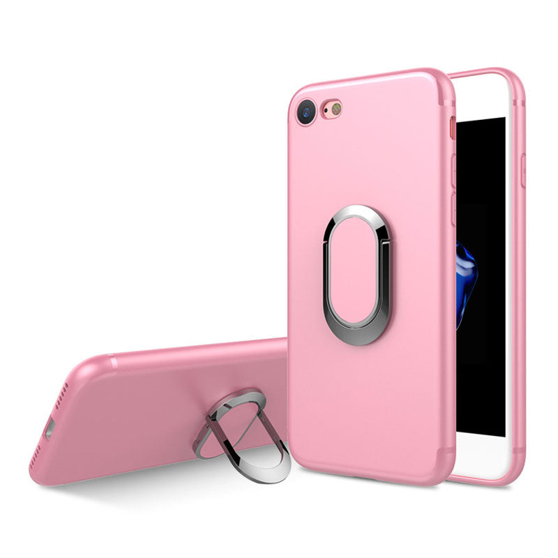 new product 2771f 75ec4 Colorful soft TPU with 360 degrees ring and stand iPhone 6/6s Case