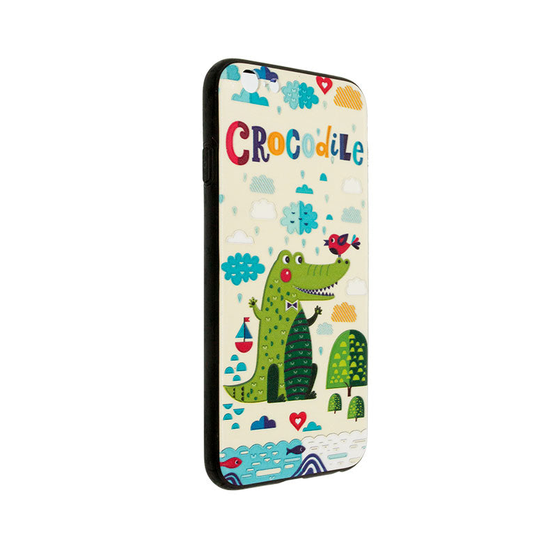 iicase-australia_Carton crocodile embossment slim iPhone Case