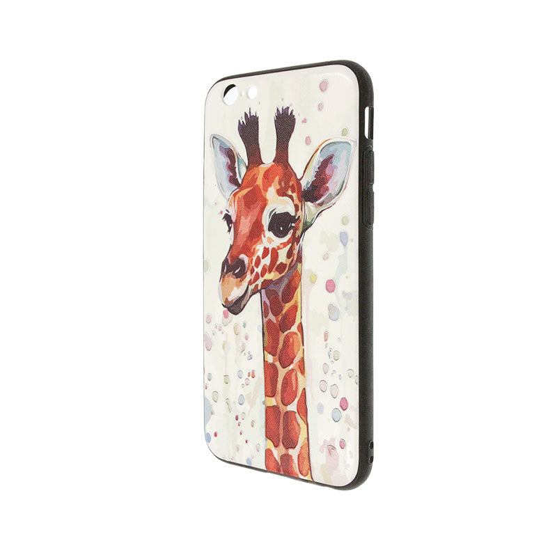 iicase-australia_Carton giraffe embossment slim iPhone case
