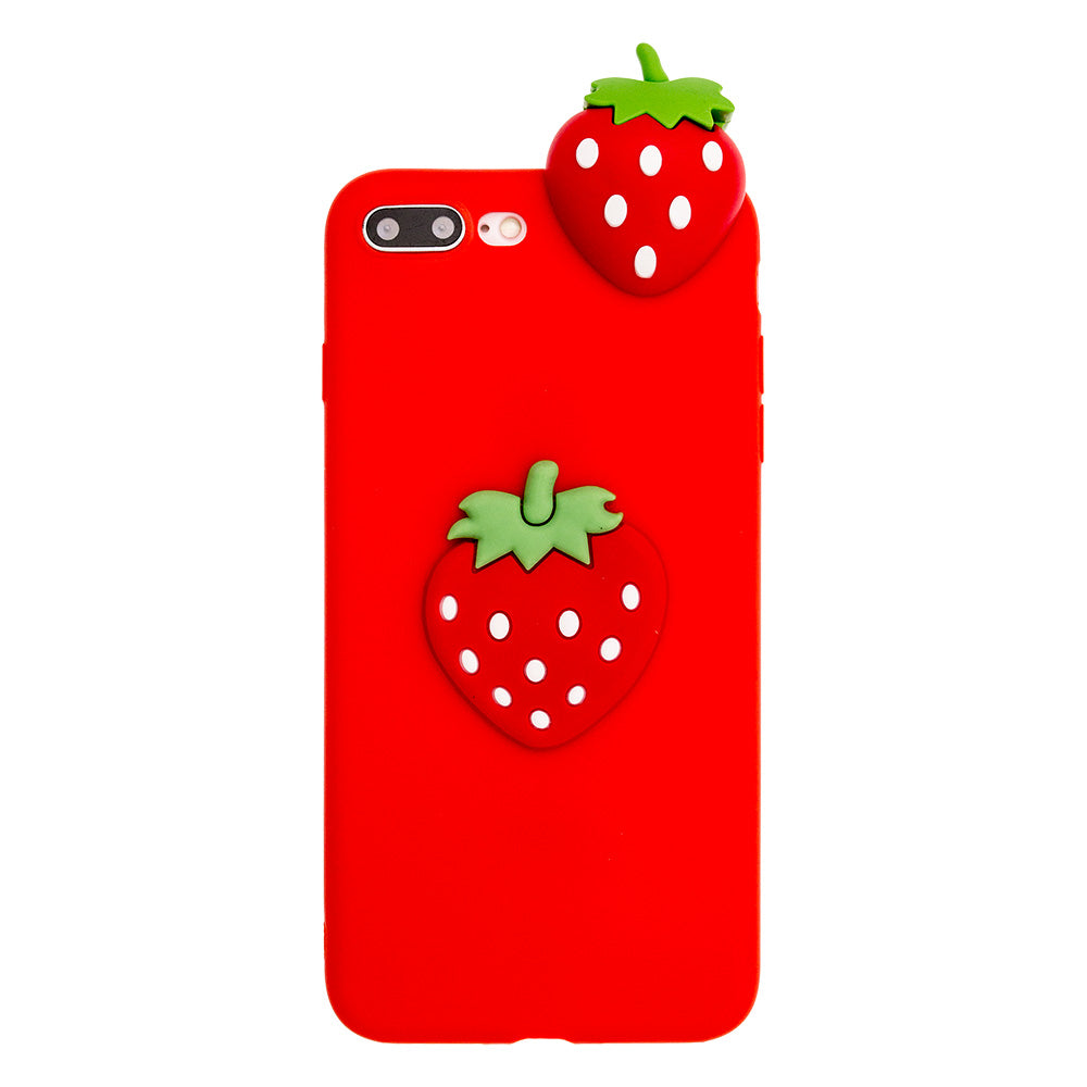 Soft TPU cute red strawberry fashion iPhone SE/5 Case