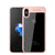 Auto Focus colorful TPU silicone + transparent PC iPhone X Case Cover - iiCase