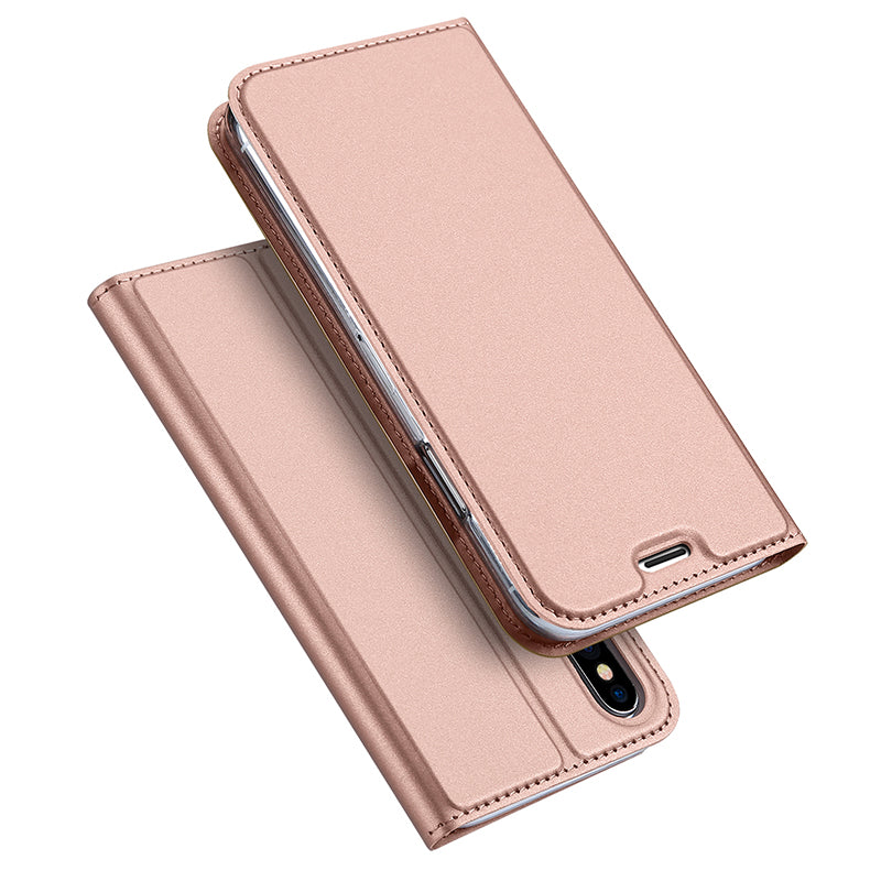 Skin Pro Series slim leather wallet card slot iPhone X Case Cover
