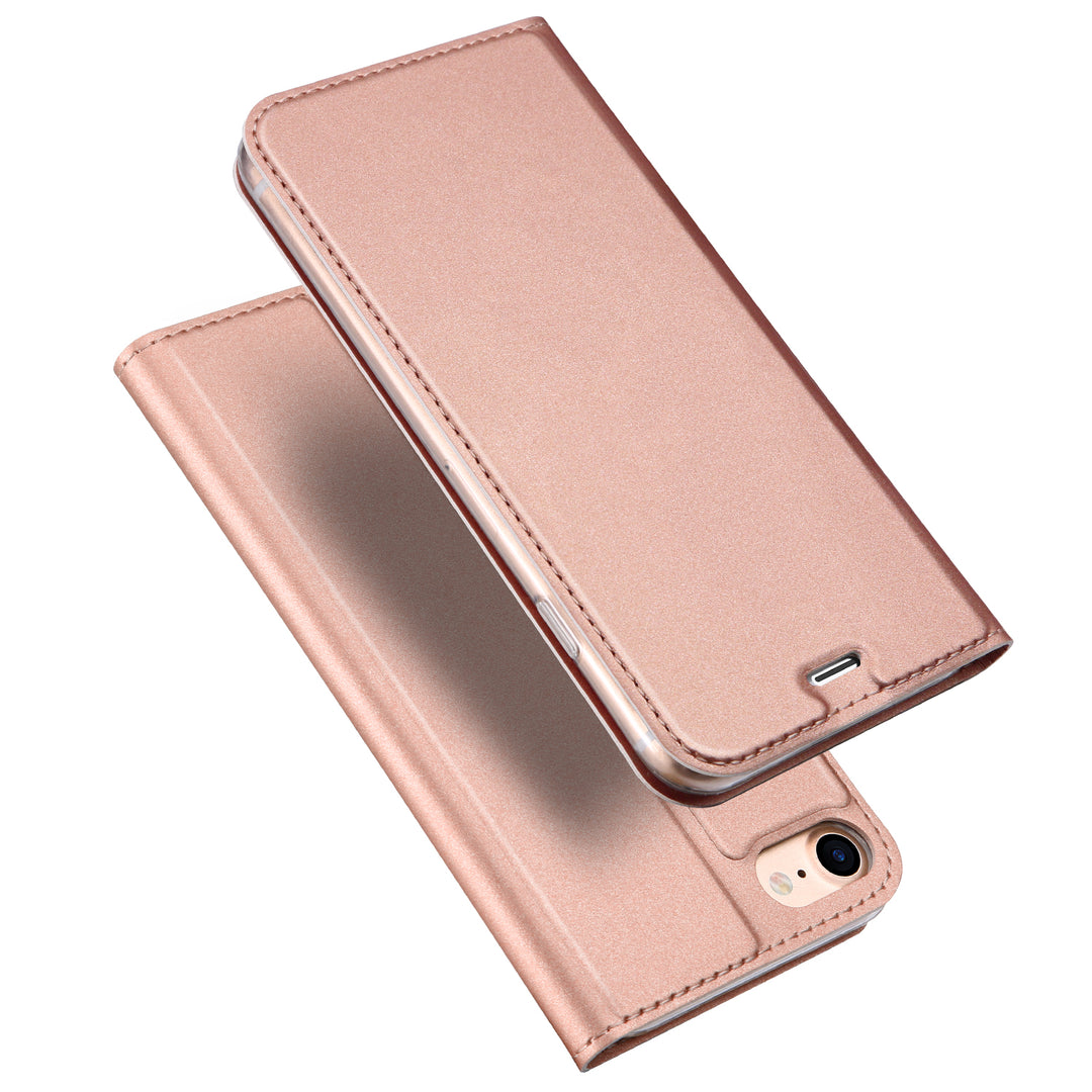 Skin Pro Series slim leather flip wallet card slot iPhone SE/5/5S Case