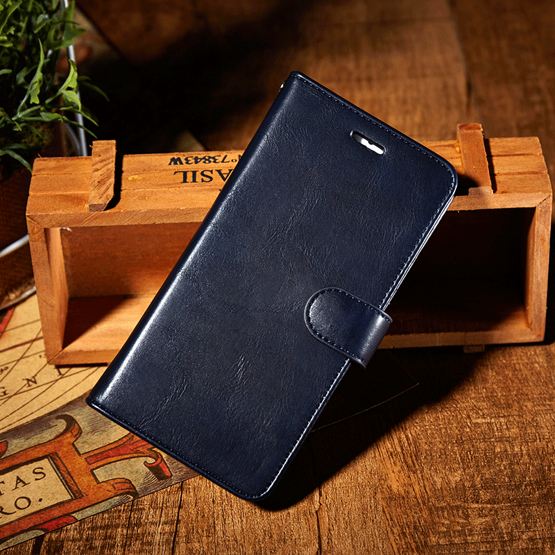 Genuine leather magnet separable wallet iPhone 8 Plus case