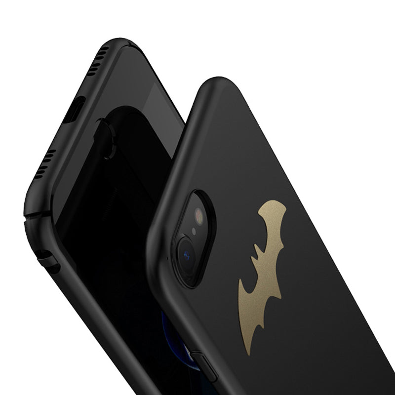 Ultra slim tough carbon PC Batman iPhone 7 Case