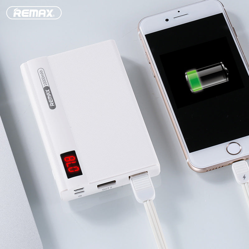 iicase-australia_Remax® Linon 10000mAh digital display lightning input portable charger power bank