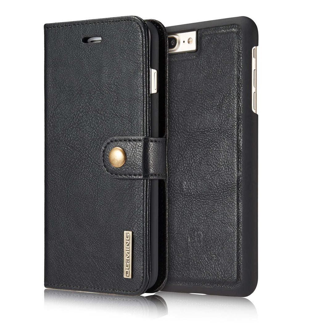 Genuine leather separable flip with magnet clasp iPhone 6+ Plus Case 5.5 inch