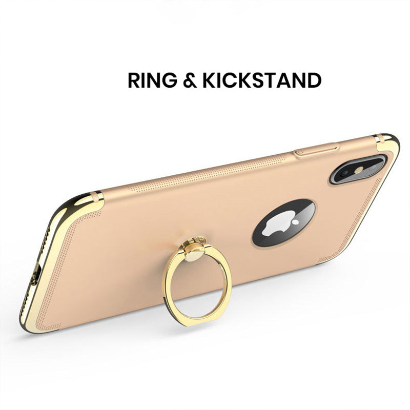 Three parts joint full protection with 360-degrees ring stand iPhone X/10 Case