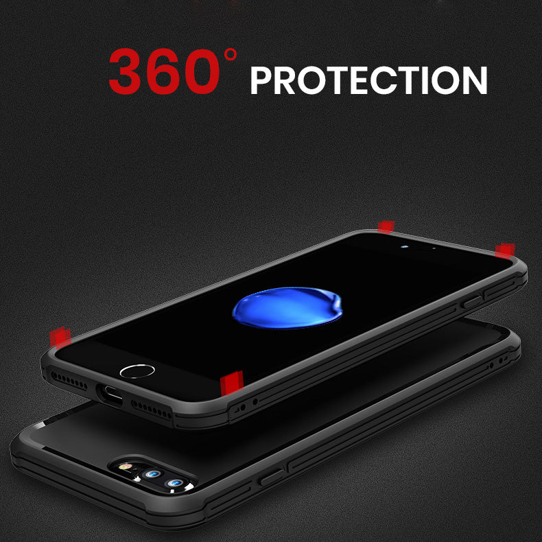 Heavy duty protection soft TPU matt simple iPhone 7 Case 4.7 inch