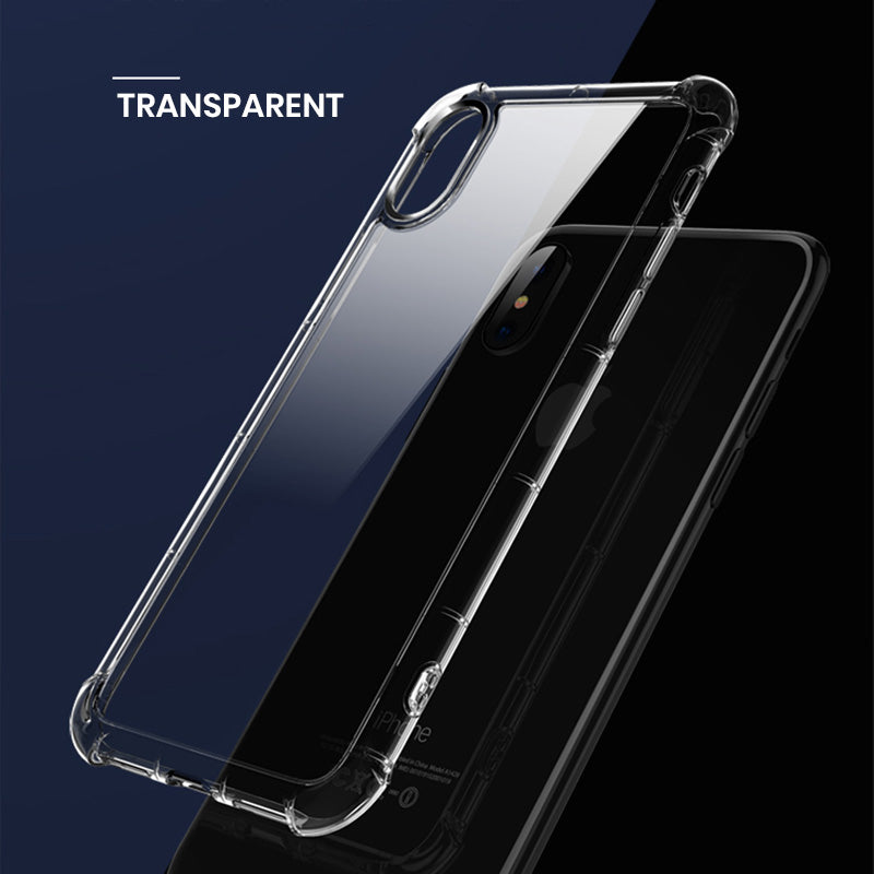 Clear military grade transparent simple iPhone 7+ Plus Case 5.5 inch