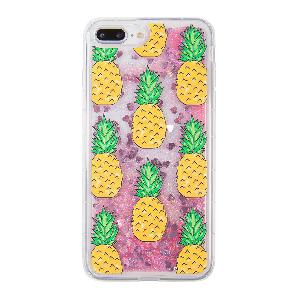 Glitter liquid shinning pineapple pattern iPhone 8 Case 4.7 inch