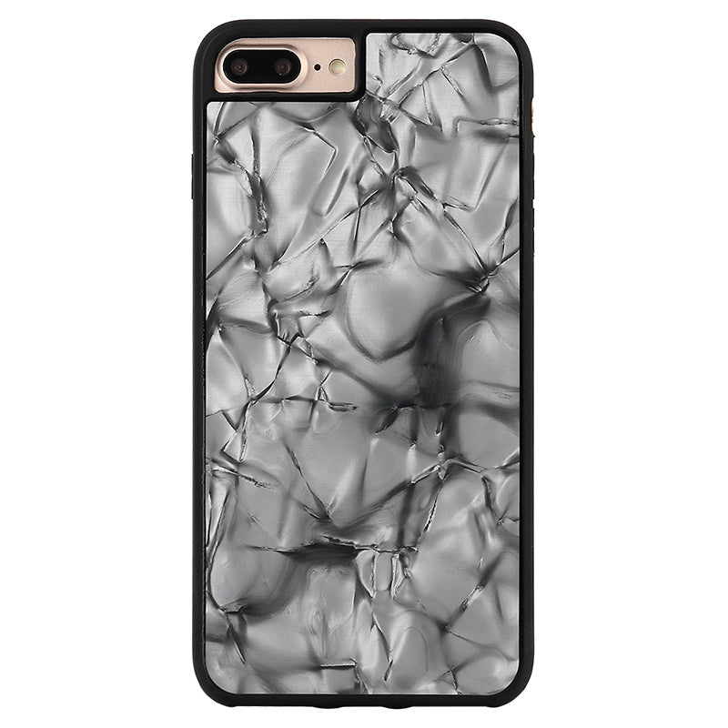 iicase-australia_Glitter Black Pearl pattern soft TPU bumper fashion iPhone 7 Case 4.7 inch