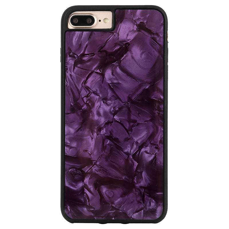 Glitter Black Pearl pattern soft TPU bumper fashion iPhone 8 Case 4.7 inch