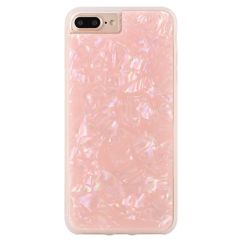 Glitter White Pearl pattern soft TPU bumper fashion iPhone 6s case 4.7 inch