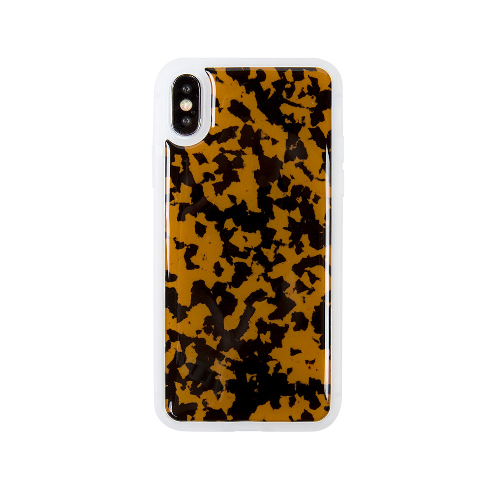 Leopard Print slim fashion soft TPU iPhone X 10 Case Cover