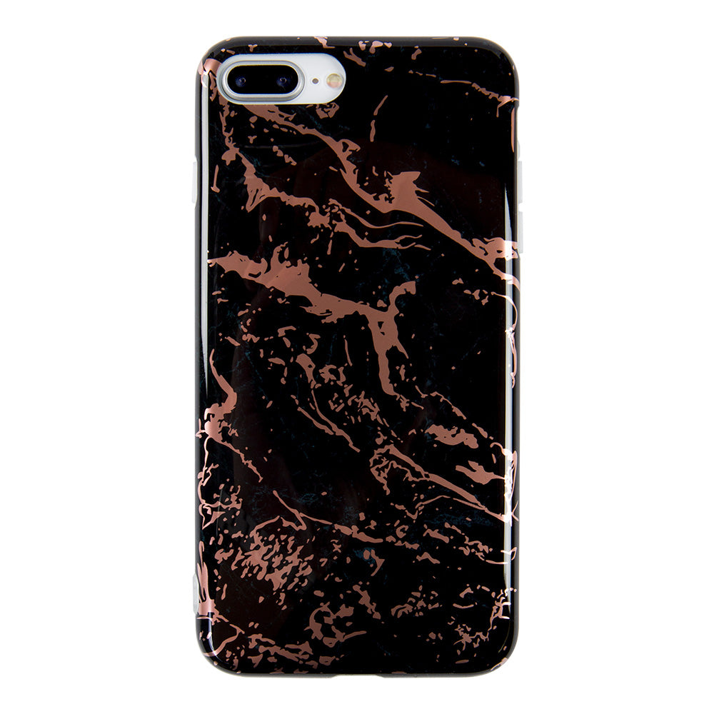 Marble with bronze gilding gloss iPhone 6s Case 4.7 inch
