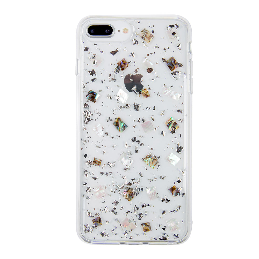 buy online 93d1b 263a5 Clear crystal glitter fashion protection iPhone 8+ Plus Case 5.5 inch