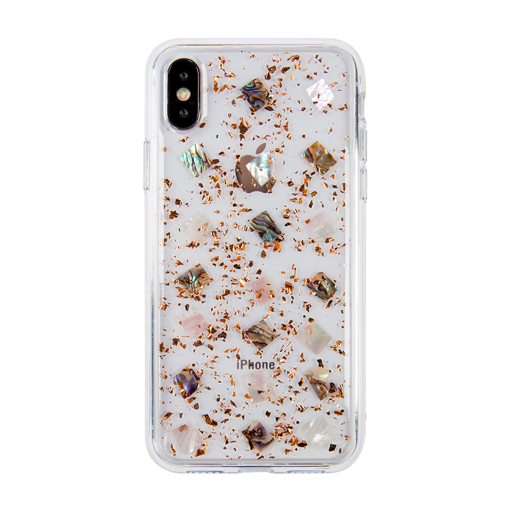 Clear crystal glitter fashion protection iPhone XS Case 5.8""