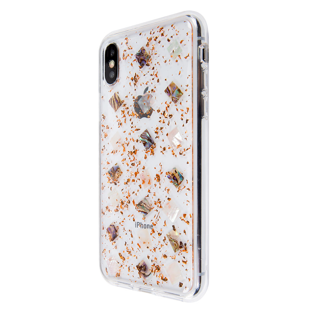 new product 0dbd0 d26c8 Clear crystal glitter fashion protection iPhone XS Case 5.8