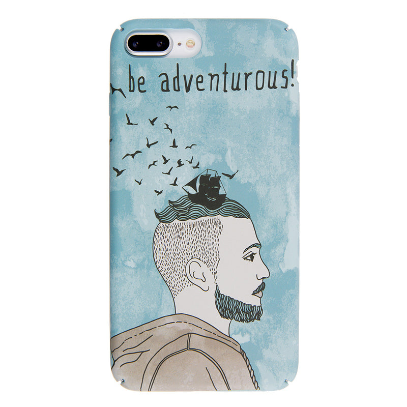 iicase-australia_Be Adventurous! ultra thin tough PC iPhone 8+ Plus Case 5.5 inch