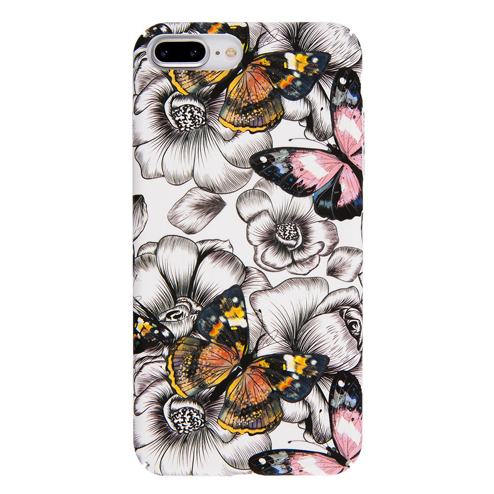 Butterfly ultra thin tough PC iPhone 8 Case 4.7 inch