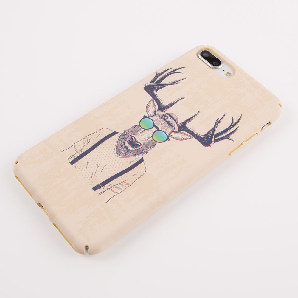Deer Man ultra thin tough PC iPhone 8+ Plus Case 5.5 inch