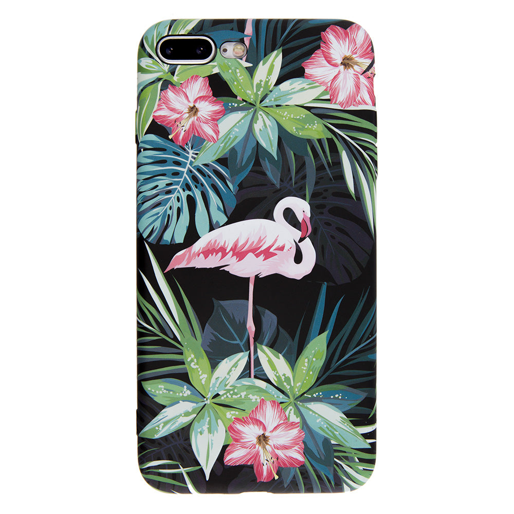 pretty nice eb421 aaff5 Soft TPU flamingo paint protection iPhone 6+ Plus Case 5.5 inch