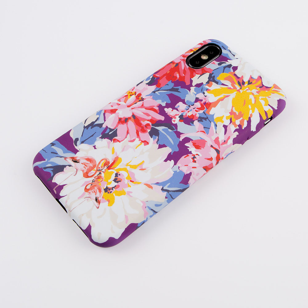Lovely Soft TPU wild flowers painting protection iPhone X Case