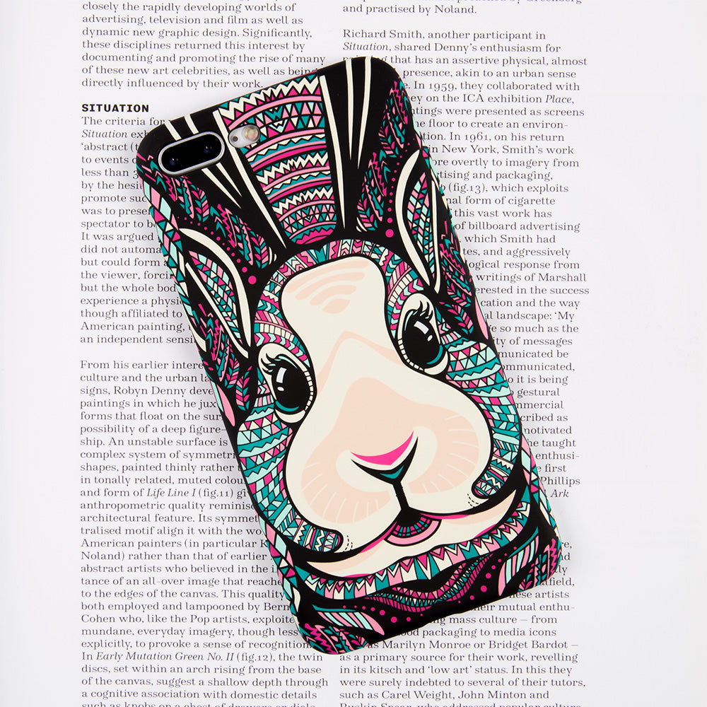 Cute luminous rabbit soft TPU protection iPhone 6+ Plus Case 5.5 inch