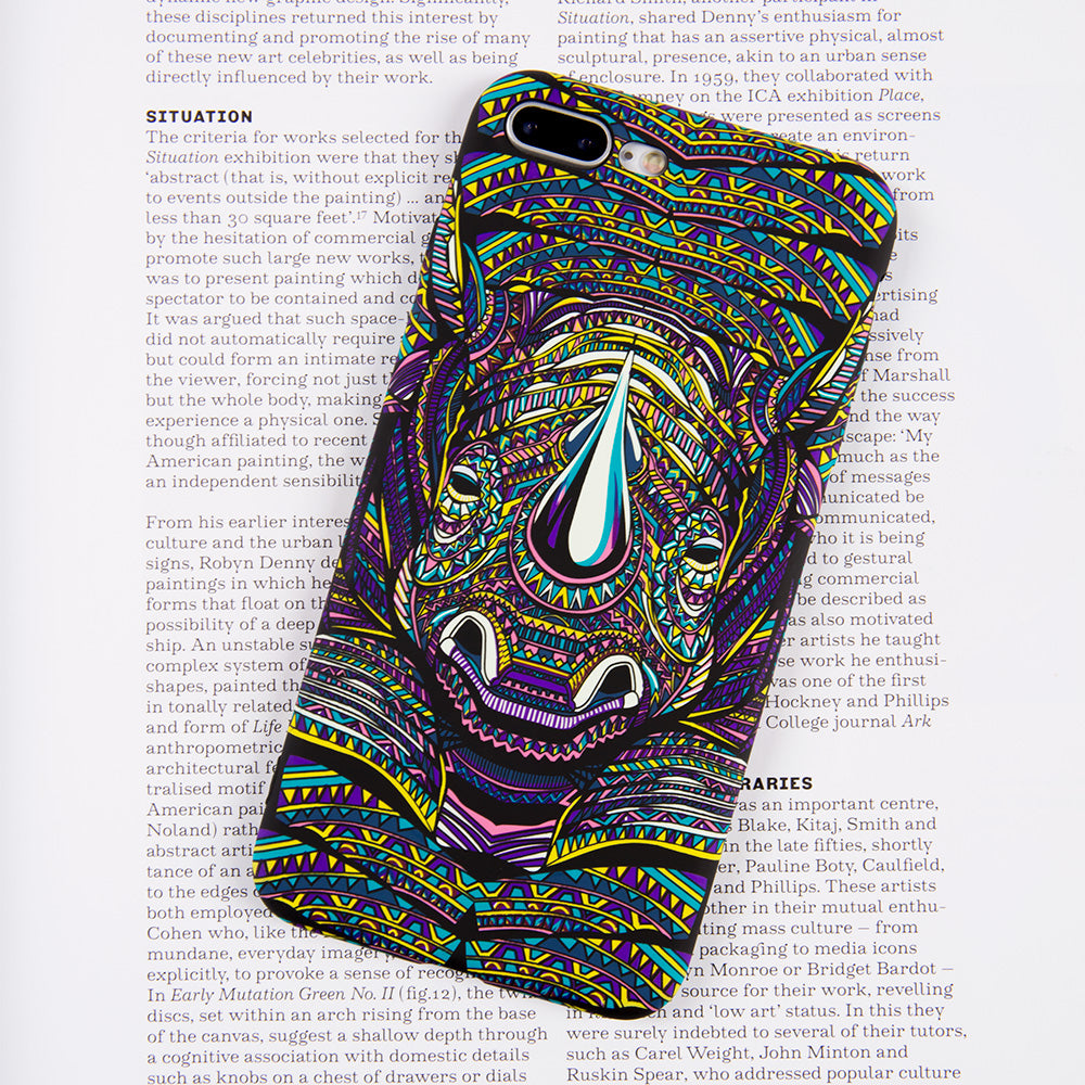Luminous rhinoceros soft TPU protection iPhone 7+ Plus Case 5.5 inch