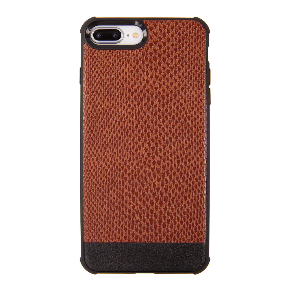 Python leather slim soft TPU protective iPhone 8 Case 4.7 inch