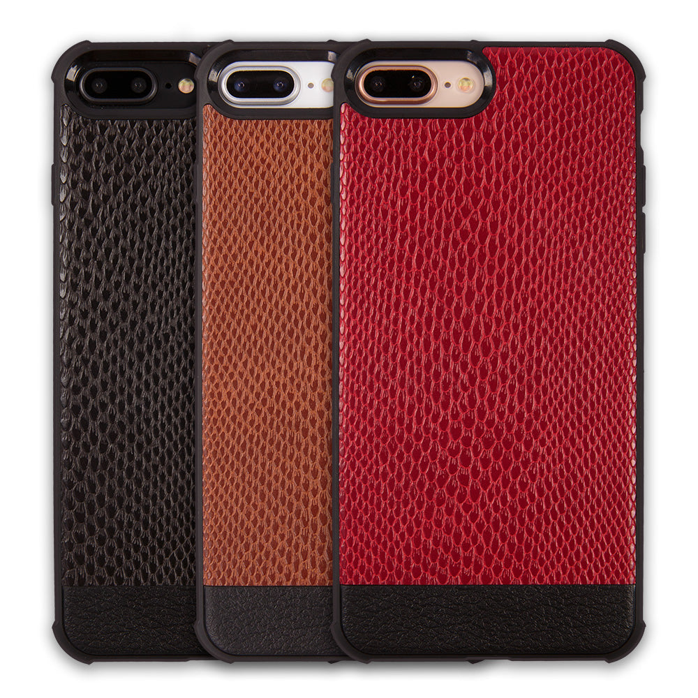 Python leather slim soft TPU protective iPhone 8+ Plus Case 5.5 inch
