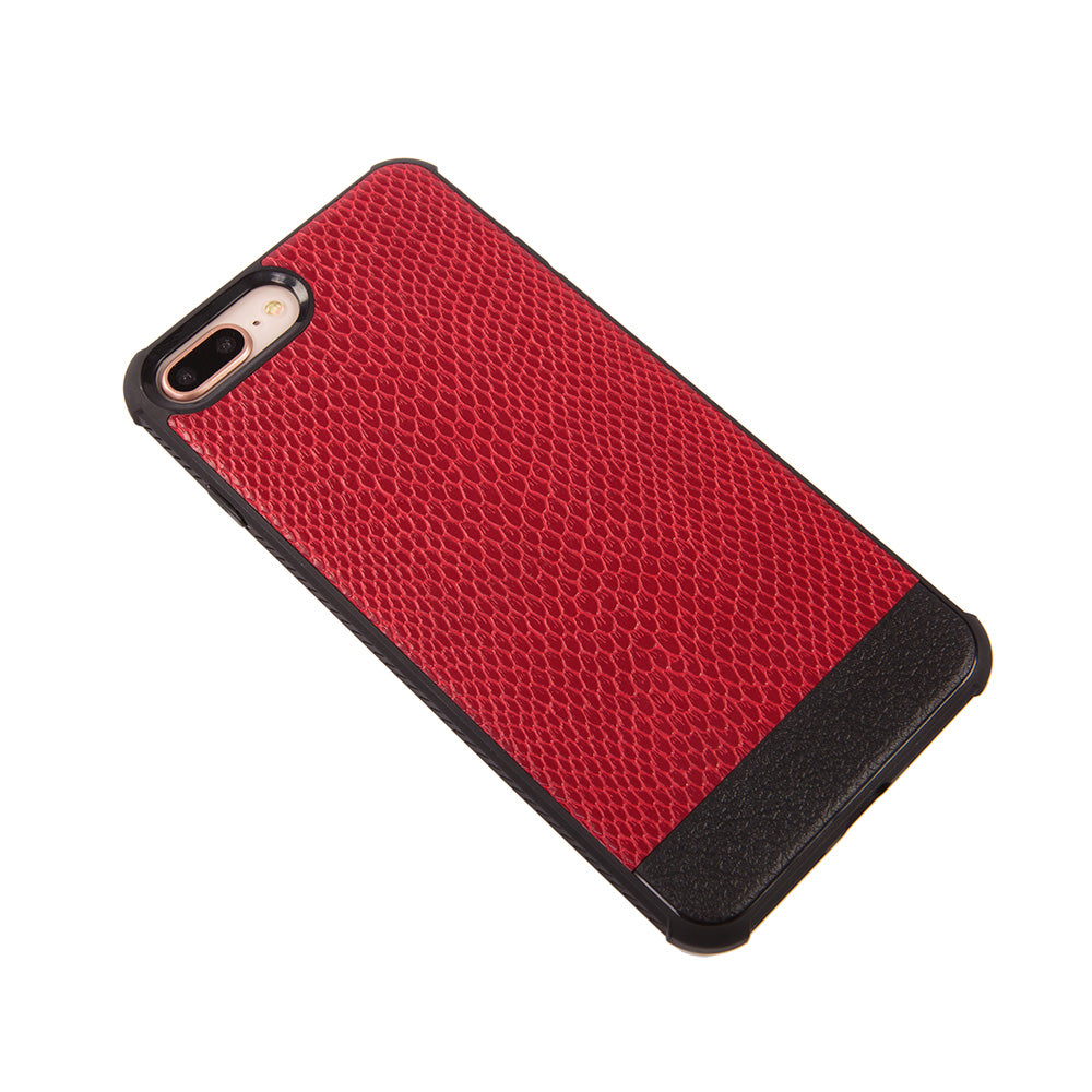 Python leather slim soft TPU protective iPhone 7+ Plus Case 5.5 inch