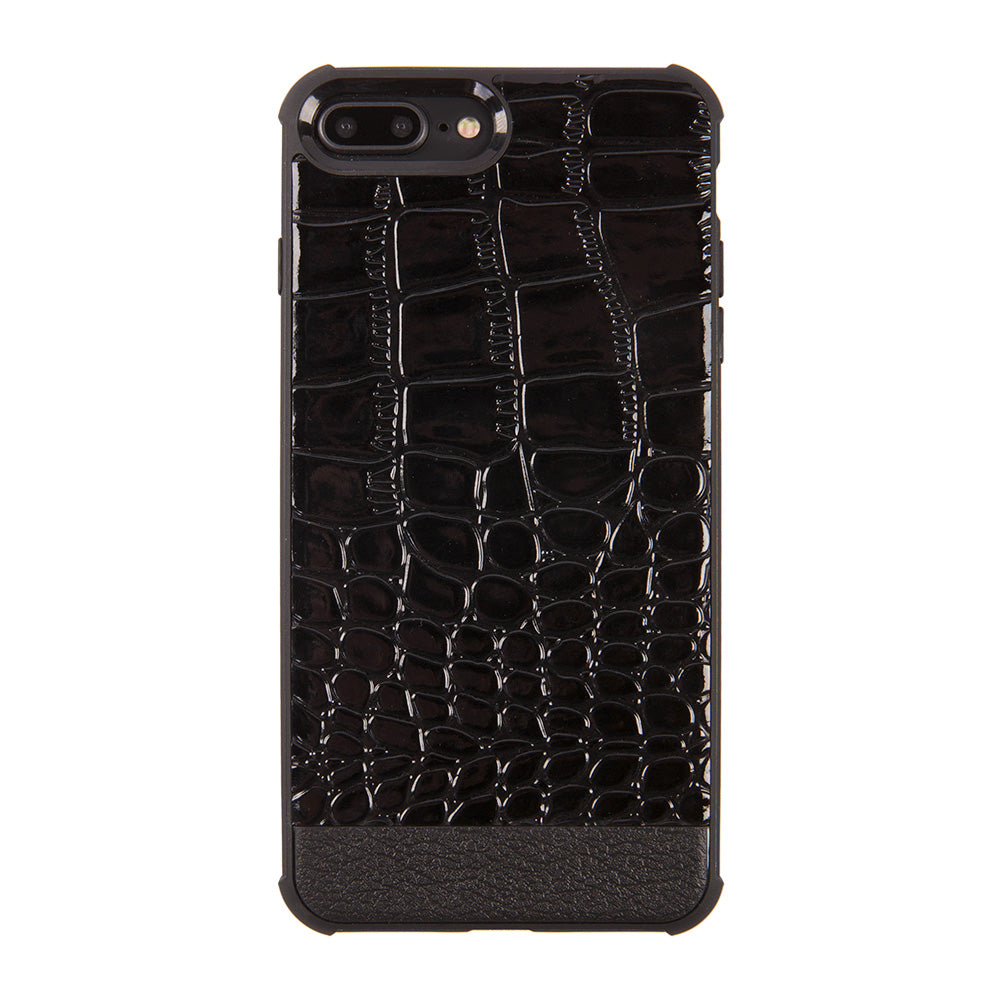 Crocodile skin style slim soft TPU protective iPhone 8+ Plus Case 5.5 inch