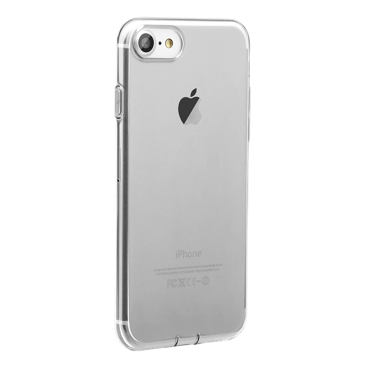 b6b35d9ae2 Ultra Slim Clear Transparent iPhone 7 Plus 5.5 inch Case with dust-proof  plug