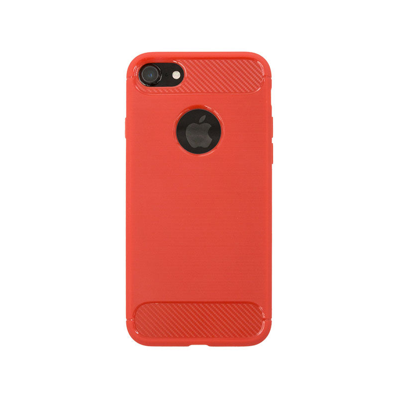 Soft TPU silicone fashion protection with carbon design iPhone 6/6s case cover