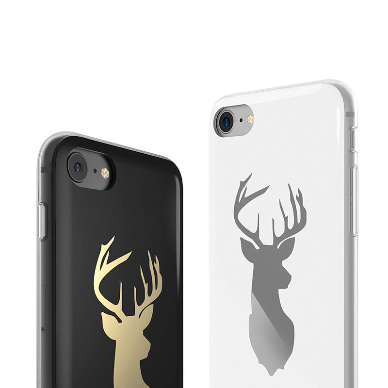 Fashion design deer slim soft TPU silicone iPhone 7 case
